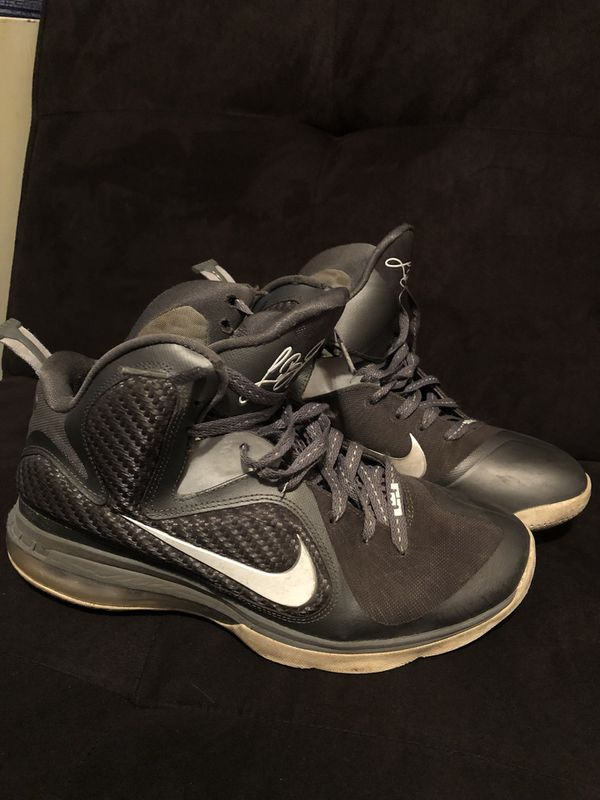 "online store d4580 78514 LeBron 9 ""Cool Gray"" Size 8.5, condition 7 10"