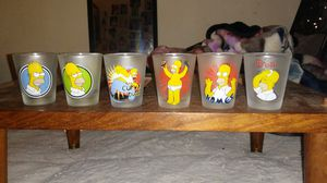 Vintage simpson shot glasses for Sale in Hilliard, OH