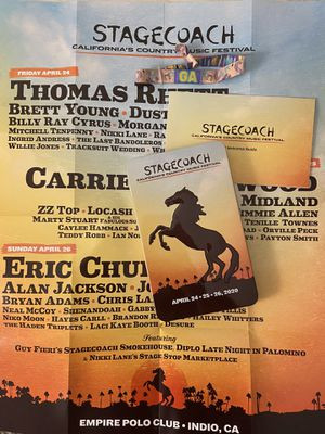 Stagecoach 3-Day GA Wristband for Sale in Mill Valley, CA