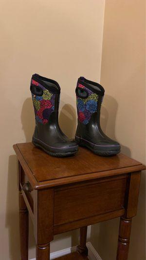 Bogs snow boots little girls size 13 for Sale in Royal Oak, MI