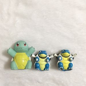 Squirtle and Blastoise Evolution Pokémon Action Figures for Sale in Hacienda Heights, CA