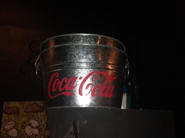 Coca cola large drink buckets $20 each