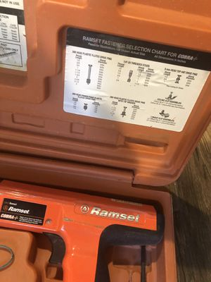 "Ramset concrete nails gun (3"" to 3/4"" ) for Sale in Lutz, FL"