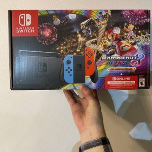 Nintendo Switch Mario kart Deluxe bundle for Sale in Hillsboro, OR