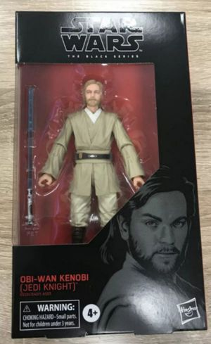 Star wars Black Series Obi Wan Kenobi Jedi Knight Collectible Action Figure Toy for Sale in Chicago, IL