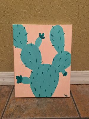 Cactus Painting for Sale in Orlando, FL