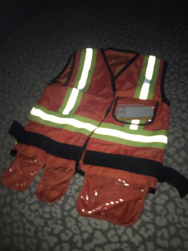 Construction vest costume