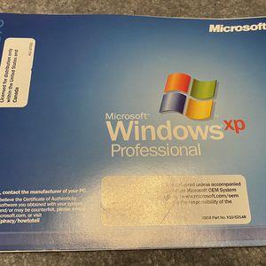 Windows XP Pro OEM W/CD key for Sale in Holliston, MA