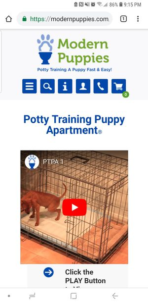 "Dog crate ""puppy apartment"" for Sale in Dearborn, MI"