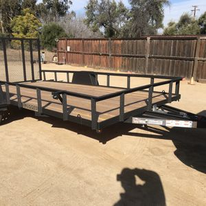2021 rugged 7x14HD RUGGED BEDLINER FLATBED HEAVY DUTY for Sale in Lake Elsinore, CA