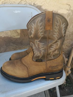 Ariat composite toe work boots size 12EE for Sale in Riverside, CA