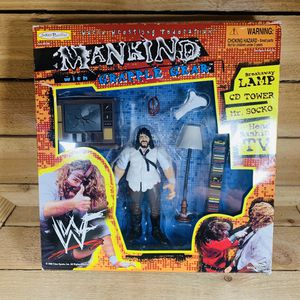 Vintage WWF MANKIND w/grapple gear for Sale in Duncanville, TX
