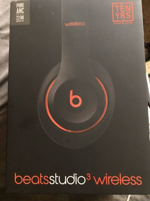Beats Studio 3 Wireless Headphones for Sale in Fresno, CA