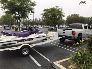 Super clean 2003 got seadoo low hours for Sale in Ontario, CA