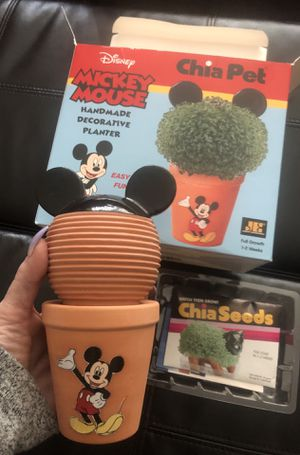 Adorable DISNEY MICKEY MOUSE CHIA PET, NEW!! for Sale in Anaheim, CA