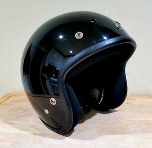 Motorcycle helmet black for Sale in Portland, OR