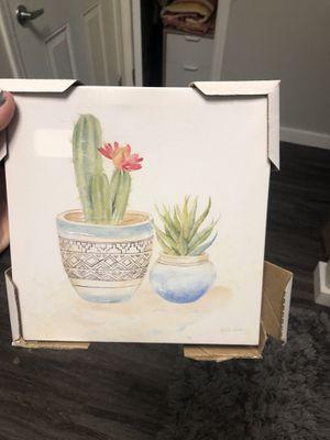 Succulent wall art for Sale in Phoenix, AZ