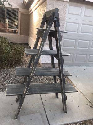 Distressed ladder shelf $150 for Sale in Mesa, AZ