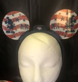 Disney 4th of July Mickey Ears for Sale in Fountain Valley, CA