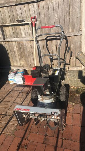 Craftsman snowblower for Sale in West Chicago, IL