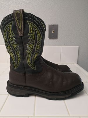 Ariat carbón toe work boots size 10S for Sale in Riverside, CA