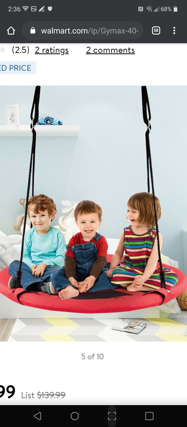 Kids hanging chair tent