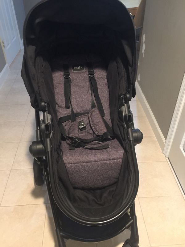 Evenflo travel system stroller , car base , car seat