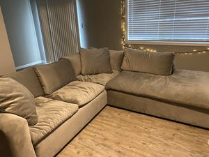 L section couch for Sale in Turlock, CA