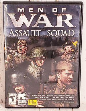 Men of War Assault Squad PC DVD-ROM 2011 Windows World War II EXCELLENT for Sale in Harrisonburg, VA