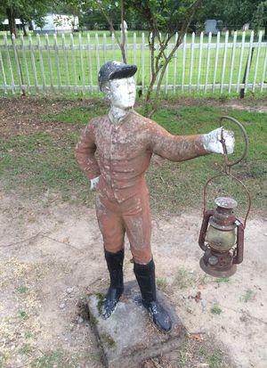 Jokey holding lantern fox hunter for Sale in Florence, SC