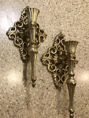 Candlestick holder wall sconces for Sale in Evansville, IN