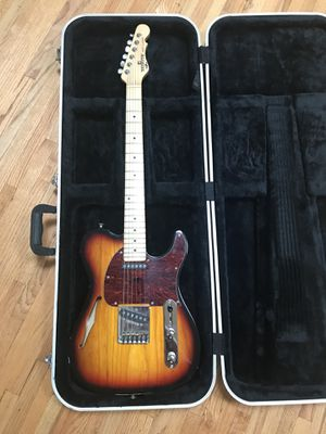 G & L Semi Hollow Telecaster Guitar With Case MINT for Sale in Universal City, CA