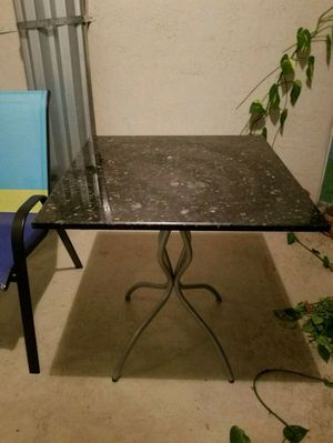Granite bistro table for Sale in West Palm Beach, FL