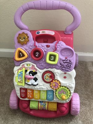 Baby sit and stand walker toy for Sale in Virginia Beach, VA