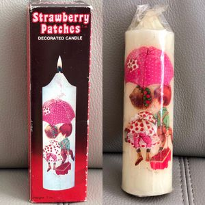 "Vintage 1980-81 Jasco Strawberry Patches Decorative Candle 7"" New in Package for Sale in Boca Raton, FL"