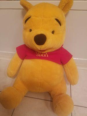 "20"" Winnie the Pooh Bear. Good condition for Sale in Suwanee, GA"