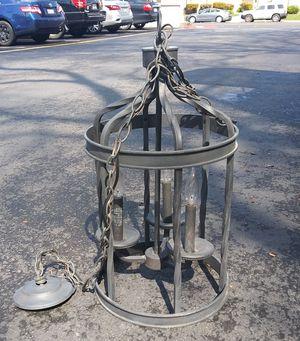Wrought iron chandelier for Sale in Pleasanton, CA