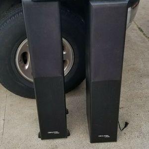 ONKYO AMP & 2 Dahlton Loadspeakers for Sale in Los Gatos, CA