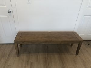 58 inches long world market wood bench for Sale in Auburn, WA