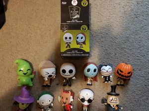 2018 WALGREENS EXCLUSIVE FUNKO POP THE NIGHTMARE BEFORE CHRISTMAS MYSTERY MINIS for Sale in San Antonio, TX