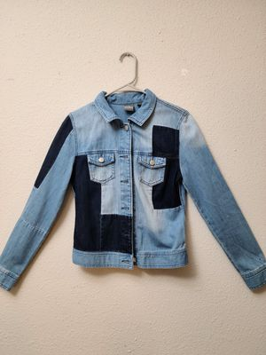 Patchwork denim jacket by New York & Company (xs) for Sale in Columbia, MD