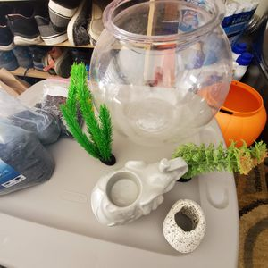 Fish Tank And Supplies for Sale in Corona, CA