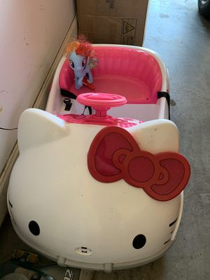 Battery operated Hello Kitty car used for Sale in Madison, MS