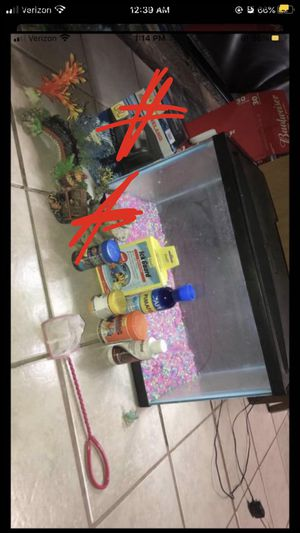 New fish tank & supplies for Sale in Tucson, AZ
