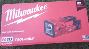 Milwaukee M18 LED Light (Tool Only) for Sale in Gilroy, CA