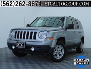2016 Jeep Patriot for Sale in Bellflower, CA