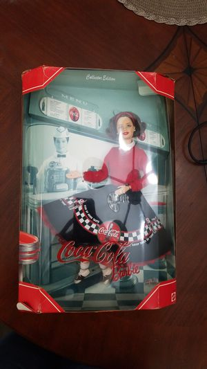 1999 Coca-Cola Barbie Doll Collector edition for Sale in Alexandria, VA