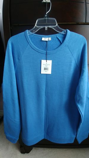 ONIA MENS BLUE CASUAL FORMAL SWEATHER SHIRT CLOTHES for Sale in Kent, WA