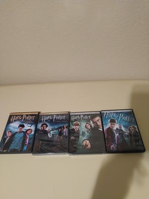 "Harry Potter Dvd""s 3 through 6...4 and 5 are still sealed for Sale in Sacramento, CA"
