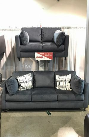 $39 Down  🍃🍂 BEST DEAL Kennewick Shadow Living Room Set 304 for Sale in Jessup, MD